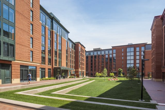 Bowen House Residence Halls University Housing