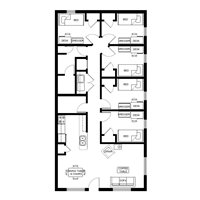 5-bedroom for 5 students