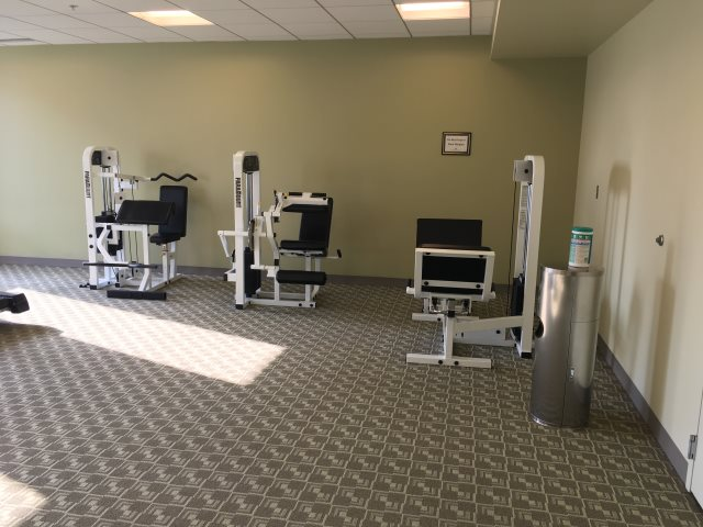 South Campus Gateway Fitness Room