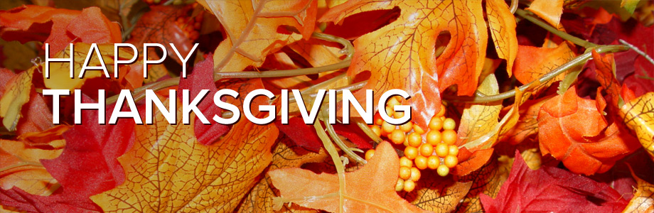 FEATURE: Happy Thanksgiving