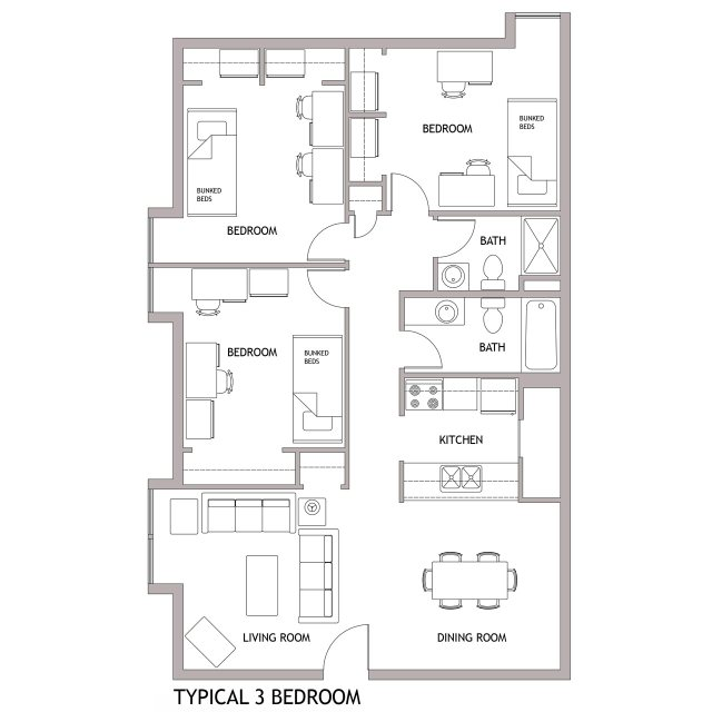 Newark Floor Plans Living on Campus