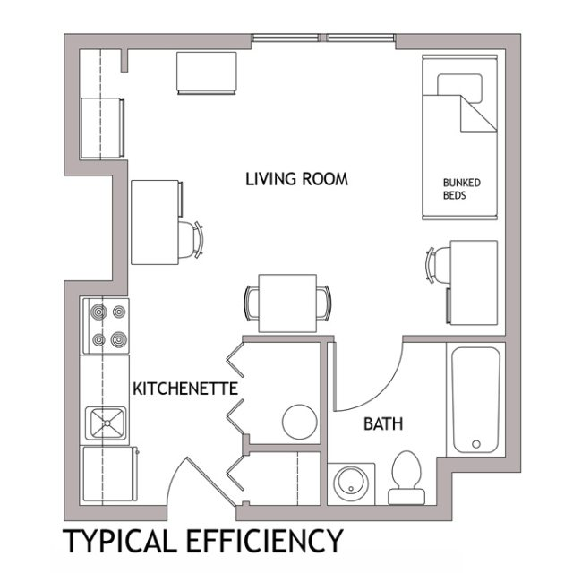 Newark Floor Plans : Living On Campus