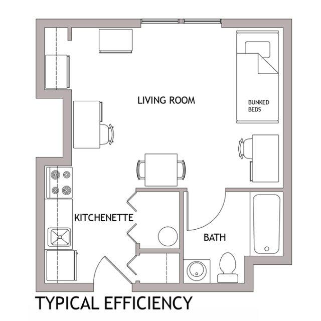 Studio Apartments Columbus Ohio: Newark Floor Plans : Living On Campus
