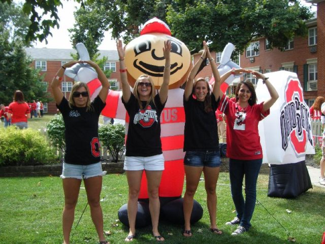 Where On Campus Has There NOT Been an O-H-I-O??