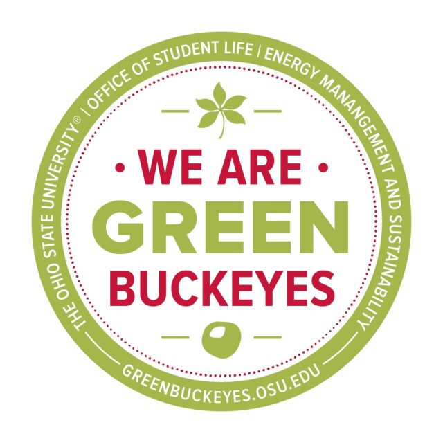 "Click on the logo above for six easy tips for how to ""Be a Green Buckeye"""